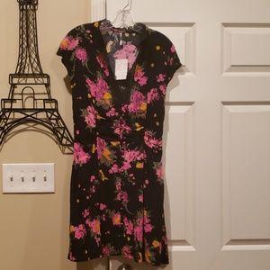 NWT Free People Alora floral dress